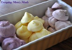 ~Frozen Yogurt Bites~ The easiest snack you'll ever make for your kids, these are yummy and adorable.
