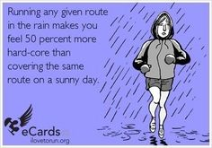 "People hear the word marathon and sometimes think crazy things. Here are some things NOT to say to someone training for a marathon. ""Do you think you will win? Running In The Rain, Keep Running, Running Tips, Trail Running, Running Club, Fitness Motivation, Running Motivation, Fitness Humor, Fitness Fun"
