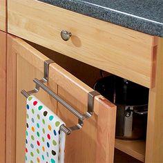 Cabinet Door Towel Storage