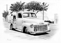 Chevy stepside pickup by Boss429 on deviantART