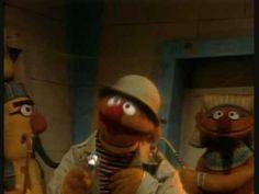 Bert en Ernie in Egypte