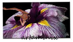 Danza floreale #fiori #flowers #garden #dancing #cutie #love #art #popart#painting #nature #twitstar