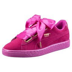 PUMA Women s Shoes - Basket Suede Heart Satin pour femme - Find deals and  best selling products for PUMA Shoes for Women 7d757e0fb9ab0