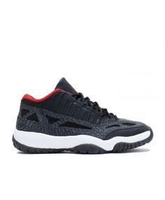 sports shoes 2f4d7 c329a Air Jordan 11 Retro Low Black Varsity Red Dark Charcoal 306008-061