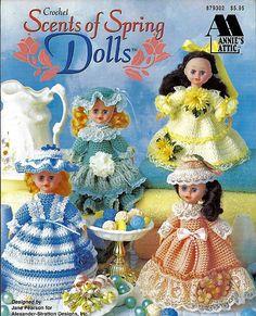 Scents of Spring Dolls Air Freshener Dolls by grammysyarngarden