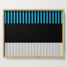 Colour Pop Stripes - Turquoise Serving Tray by laec Colour Pop, Color, Tea Mugs, Bar Stools, Coasters, Tray, Stripes, Turquoise, Outdoor Decor
