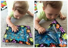 Sensory activities for 5 month old.
