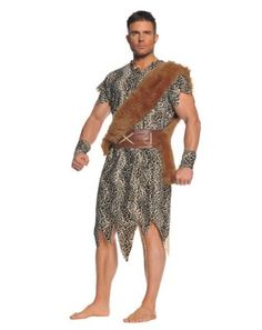 Azul//Negro Atosa 53881/Cueva Humanos Disfraz para Mujer Costume Caveman//Cave Woman XL