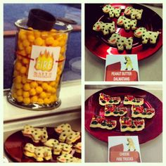 Fireman Party Grub! #funfood #creativefood #firefighters