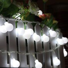 guirlandes lumineuses de globe sur pinterest. Black Bedroom Furniture Sets. Home Design Ideas