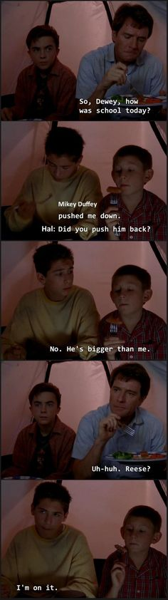 Malcom in the Middle on the importance of brothers.