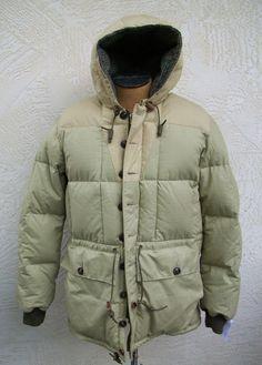 Nigel Cabourn Eddie Bauer Kara Koram Down Filled Jacket Size 52 Rare Parka #EddieBauer #KaraKoram