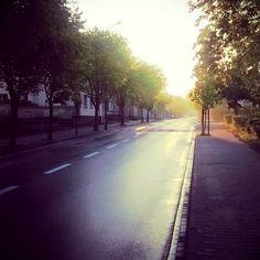 Ulica Cysterska w Wągrowcu. #wagrowiec #wielkopolska #polska #poland #wągrowiec #ulica #street Fot. D. Kożuszko