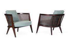 Harvey Probber Lounge Chairs, Pair on OneKingsLane.com