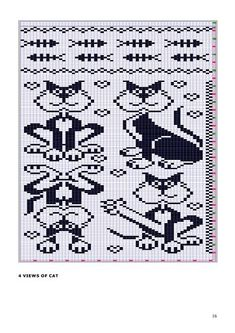 Cat Figura - maomao - I azione del cuore Beaded Cross Stitch, Cross Stitch Charts, Cross Stitch Embroidery, Cross Stitch Patterns, Crochet Patterns, Filet Crochet Charts, Knitting Charts, Tapestry Crochet, Plastic Canvas Patterns
