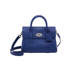 9c600afc8e3d Mulberry - Small Bayswater Satchel in Indigo Soft Grain Leather Mulberry  Shoulder Bag