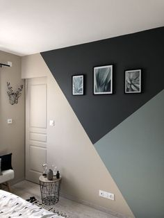 these are the Most Popular Living Room Paint Colors for 2019 Bedroom Door Design, Bedroom Wall Designs, Home Room Design, Boys Bedroom Paint, Master Bedroom, Paint Ideas For Bedroom, Boys Bedroom Decor, Easy Painting Projects, Interior Painting Ideas