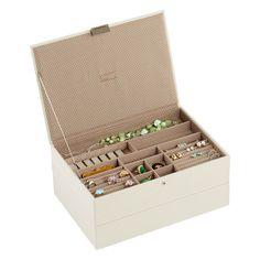 Vanilla Supersize Stackers™ Premium Jewelry Storage