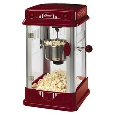 Oster� Old Fashion Theater Style Popcorn Maker- Red
