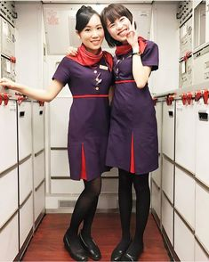 👩🏻‍💼 AFA since May 2016さんはInstagramを利用しています:「Follow ✈️ @asianflightattendant at @hkairlines 🇭🇰 with @florence_sinyee 🇭🇰_______________________________________________________…」 Military Women, Military Police, Celebrity Makeup, Cabin Crew, Flight Attendant, Asian Woman, Hosiery, Stockings, High Neck Dress