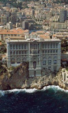 Grimaldi Palace - Monte Carlo, Monaco #adventure #travel