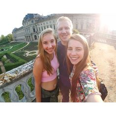 Being tourists. #travel #germany #family