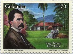 JORGE ISAACS (1837-1895) POETA Y NOVELISTA, COLOMBIA 1987 Movie Posters, Decor, Art, Poet, World, Colombia, Writers, Exhibitions, Art Background