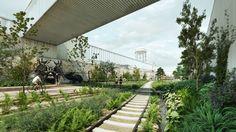 Galería de Conoce el segundo lugar del concurso Parque Lineal Ferrocarril de Cuernavaca en Ciudad de México - 2