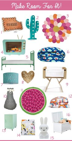KidStyleFile Roundup: Baby And Kids Room Decor