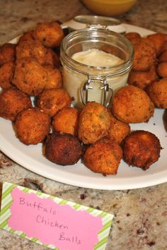 Buffalo Chicken Balls