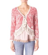 Odd Molly 169 Shakin My Hair Cardigan in Lite Coral Pink