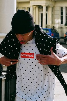 COMME des GARÇONS SHIRT x Supreme 2012 Capsule Collection Lookbook.