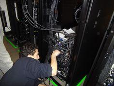 Câblage de serveurs