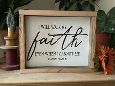 I Walk By Faith Even When I Cannot See/ Christian Decor/ Bible Verse Sign/ 2 Corinthians Faith Sign/ Scripture Verse Sign/ Easter Decor easter sayings for signs Bible Verse Decor, Bible Verse Signs, Scripture Verses, Scriptures, Scripture Wall Art, Christian Signs, Christian Decor, Christian Easter, Barn Wood Signs