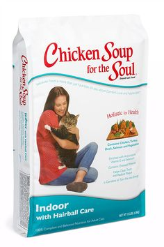Chicken Soup for the Soul Indoor with Hairball Care Cat 15lb *** You can get more details here (This is an amazon affiliate link. I may earn commission from it)