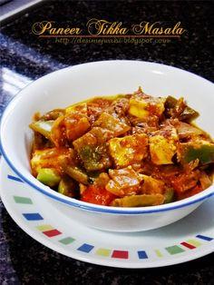 Restaurant Syle Paneer Tikka Masala Recipe Recipe on Yummly. Best Curry Recipe, Curry Recipes, Vegetarian Recipes, Healthy Recipes, Paneer Tikka Masala Recipe, Chilli Paneer, Punjabi Food, Vegetable Curry, Pumpkin Recipes