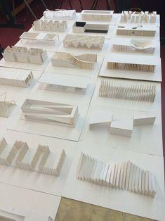 Maquette Architecture, Concept Models Architecture, Architecture Model Making, Conceptual Architecture, Pavilion Architecture, School Architecture, Interior Architecture, Architecture Diagrams, Landscape Architecture