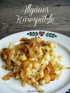 Allgäu Cheese Spaetzle #Bavaria