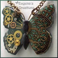 Steampunk butterfly - I absolutely love this!