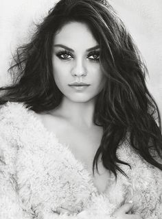 Mila Kunis by Tesh for US Marie Claire, July 2014