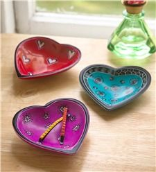 Handcrafted Heart Dish