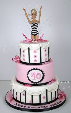 BC4001 - barbie birthday cake toronto