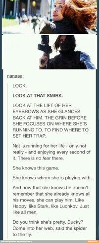 Until she gets shot, then she knows it's not a game anymore