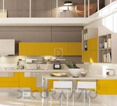 #kitchen #design #interior #furniture #furnishings комплект в кухню Cucine Lube Creativa, CLC06WY