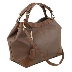 Tuscany Leather AMBROSIA Soft leather bag with shoulder strap