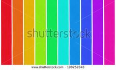 Set of ten different color satin ribbons, isolated on white