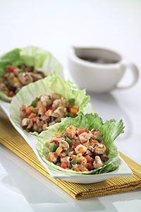 My Wholesome Kitchen's Rachel Gorney shares her delectable Chicken San Choy Bow recipe. Clean Eating, Healthy Eating, Healthy Lunches, Healthy Dinners, Eating Well, Healthy Chicken Recipes, Whole Food Recipes, Organic Recipes, Ethnic Recipes