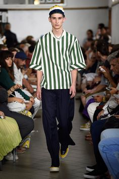 Sunnei Spring 2018 Menswear Fashion Show Collection