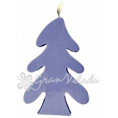 Molde para velas, Pino Nevado. Molde de silicona para hacer velas de navidad, ideal para hacer tus detalles DIY. Disponible en Gran Velada.