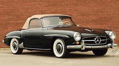 1958 Mercedes-Benz 190SL Roadster Porsche Roadster, Merc Benz, Mercedes Benz 190, Convertible, Classy Cars, Classic Mercedes, Old Classic Cars, Classic Motors, Top Cars
